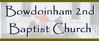 Bowdoinham Second Baptist Church logo