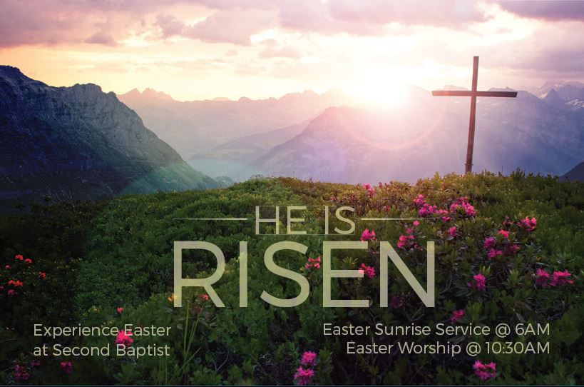 Celebrate Easter! – Bowdoinham Second Baptist Church