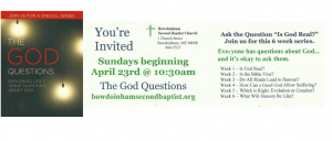 The God Question Flier